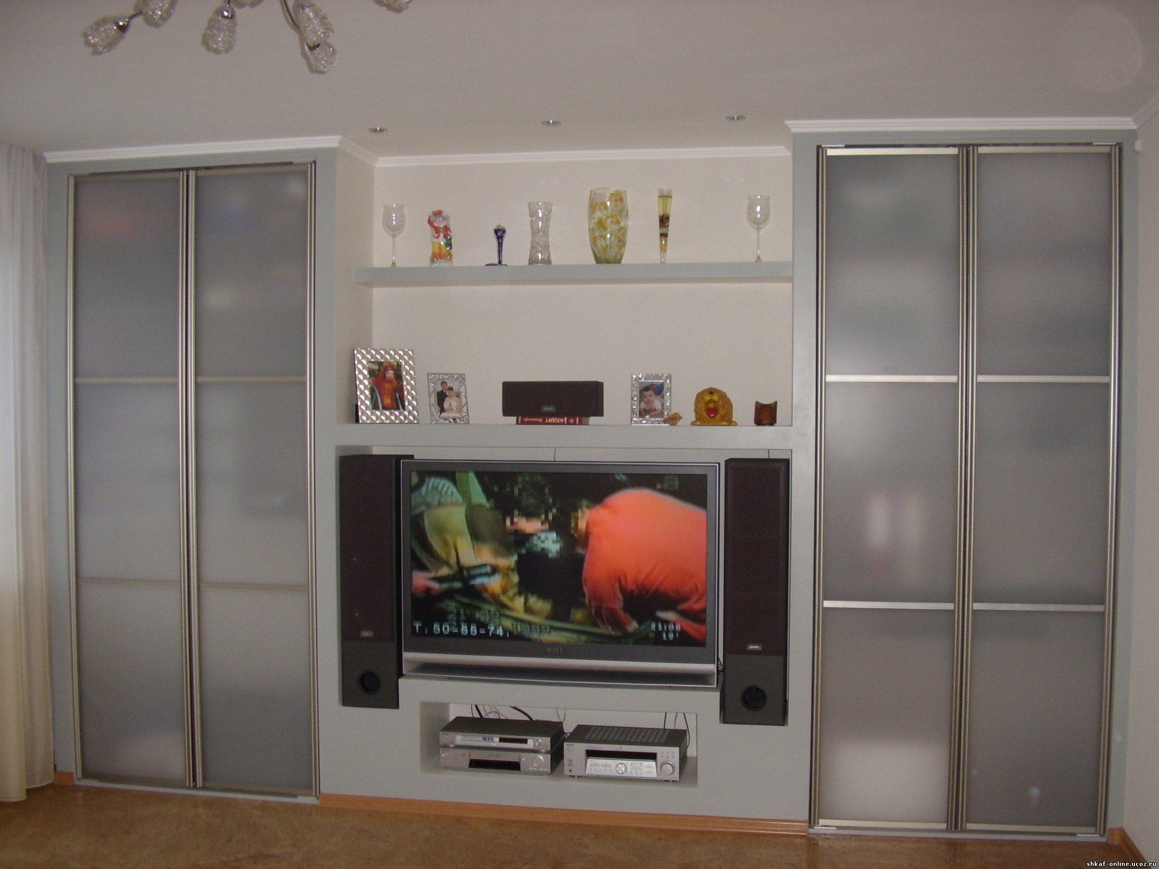 """Шкаф в гостиную ооо """"самая лучшая мебель"""" в красноярске."""